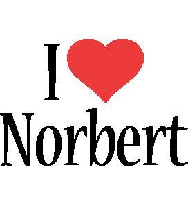 Norbert i-love logo