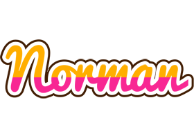 Norman smoothie logo