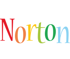 Norton birthday logo