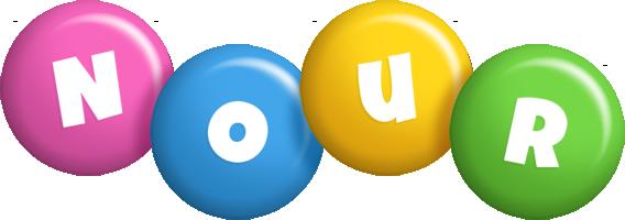 Nour candy logo