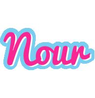 Nour popstar logo