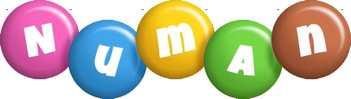 Numan candy logo
