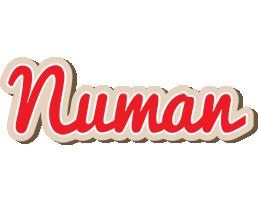 Numan chocolate logo