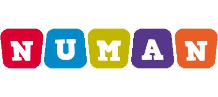 Numan daycare logo