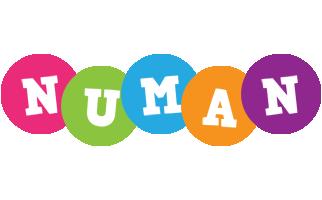 Numan friends logo