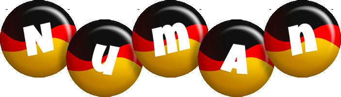 Numan german logo