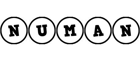 Numan handy logo