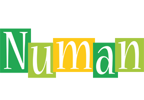 Numan lemonade logo