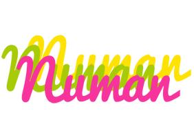 Numan sweets logo