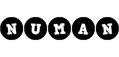 Numan tools logo