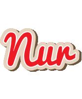 Nur chocolate logo
