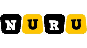 Nuru boots logo