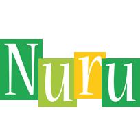 Nuru lemonade logo