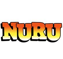 Nuru sunset logo
