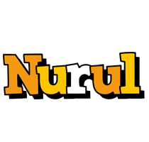 Nurul cartoon logo