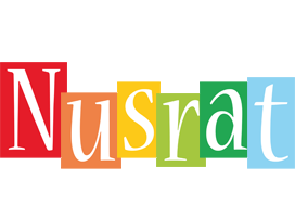 Nusrat colors logo