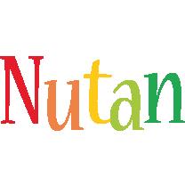Nutan birthday logo