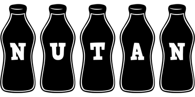 Nutan bottle logo