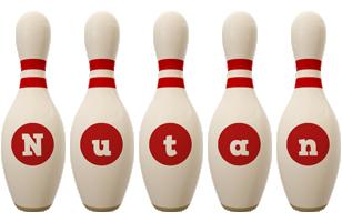 Nutan bowling-pin logo
