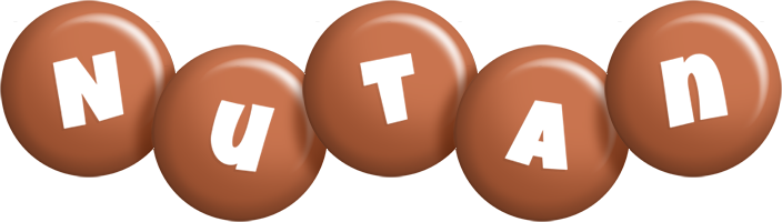 Nutan candy-brown logo