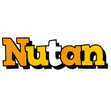 Nutan cartoon logo