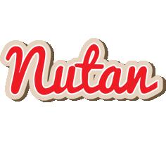 Nutan chocolate logo
