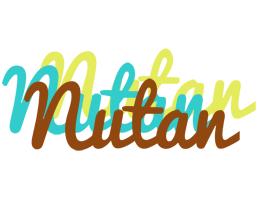 Nutan cupcake logo