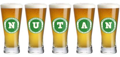Nutan lager logo