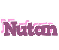 Nutan relaxing logo