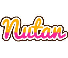 Nutan smoothie logo