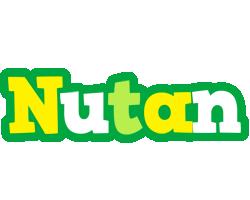 Nutan soccer logo