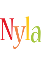 Nyla birthday logo