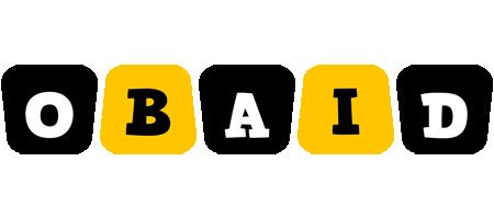 Obaid boots logo