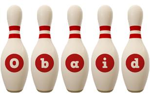 Obaid bowling-pin logo