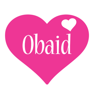 Obaid love-heart logo