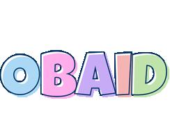 Obaid pastel logo