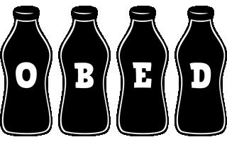 Obed bottle logo