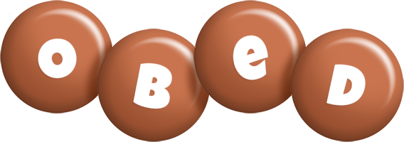Obed candy-brown logo