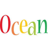 Ocean birthday logo