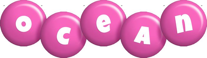 Ocean candy-pink logo