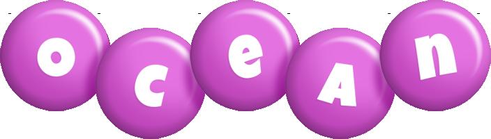 Ocean candy-purple logo