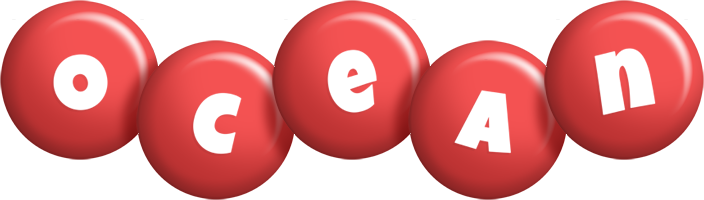Ocean candy-red logo