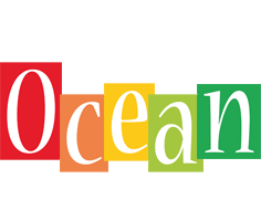 Ocean colors logo