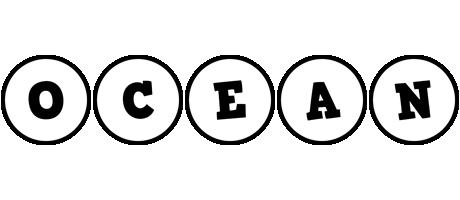 Ocean handy logo