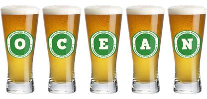 Ocean lager logo