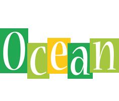 Ocean lemonade logo