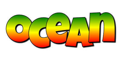 Ocean mango logo