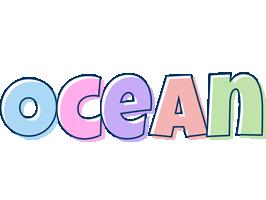 Ocean pastel logo