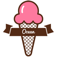 Ocean premium logo