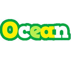 Ocean soccer logo